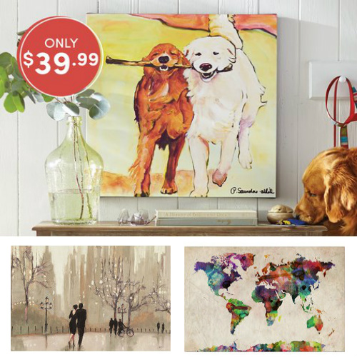 Up to 60% off Wall Art : Only $39.99