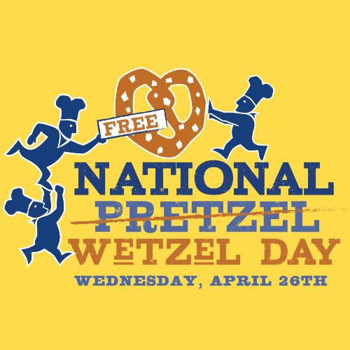 Wetzel's : Free Pretzel