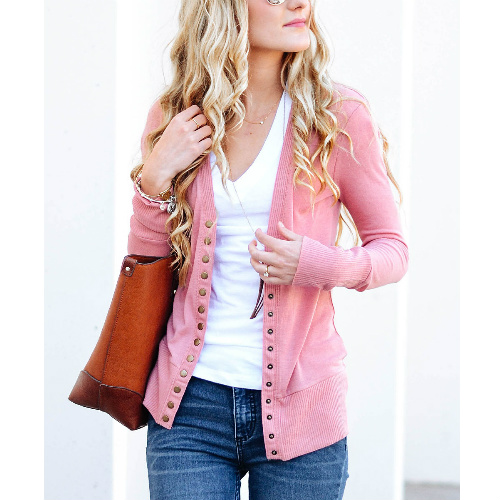 67% off Women's Snap Button Cardigans : $13.79