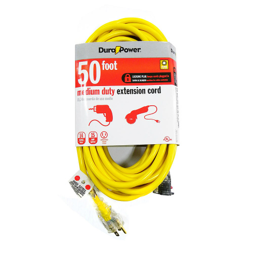 51% off 50-FT Dura Power Extension Cord : $19.99