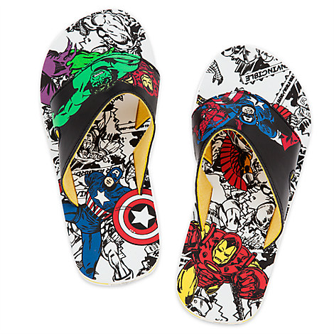 avengers flip flops