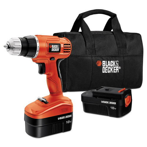 63% off Black & Decker Cordless Drill Driver Kit : $36.99 + Free S/H