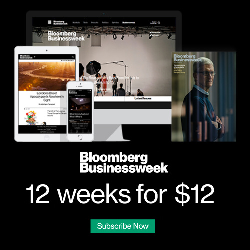 Bloomberg Businessweek Subscription : 12 Weeks for $12