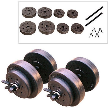 clearance dumbbell set