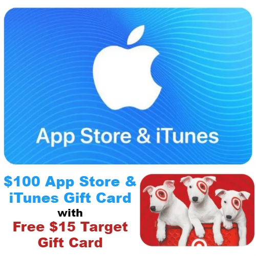 0 App Store Itunes Gift Card Comes With A Free Target Gift Card Mybargainbuddy Com