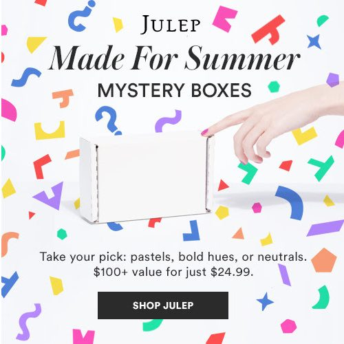 75% off Julep Beauty Mystery Box : $24.99 + Free S/H