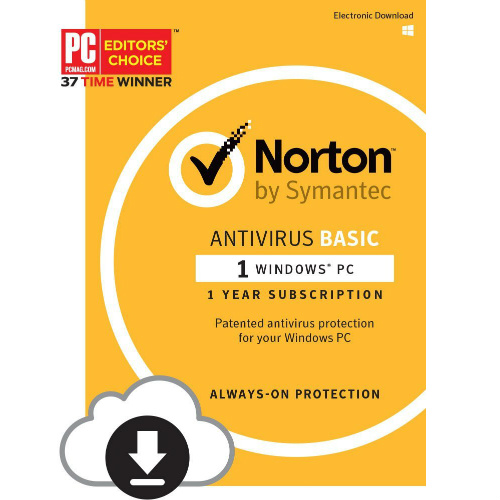 Norton AntiVirus : 1¢ after rebate