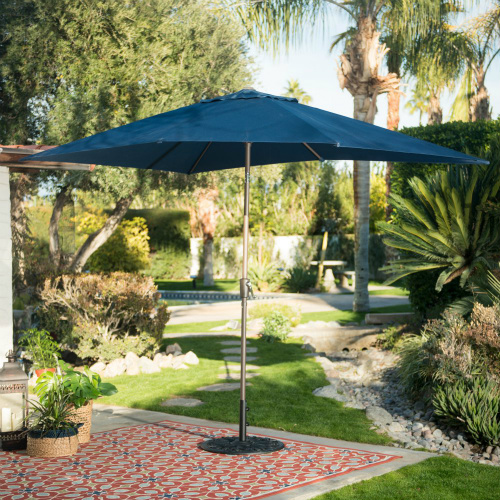 75% off Rectangular Patio Umbrella : $44.98 + Free S/H