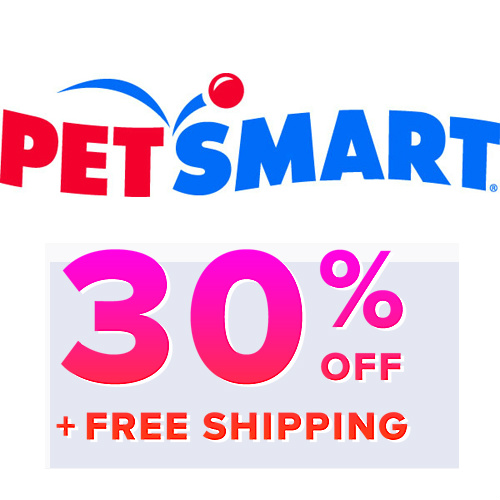 Petsmart : Extra 30% off + Free S/H on 1st Auto Ship Order