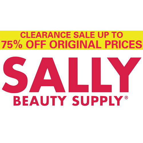Sally Beauty : Extra 50% off Red Tag Clearance items + 25% off any item