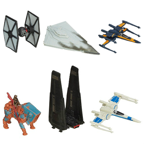 69% off 3-PKs of Star Wars Micro Machines : $1.50