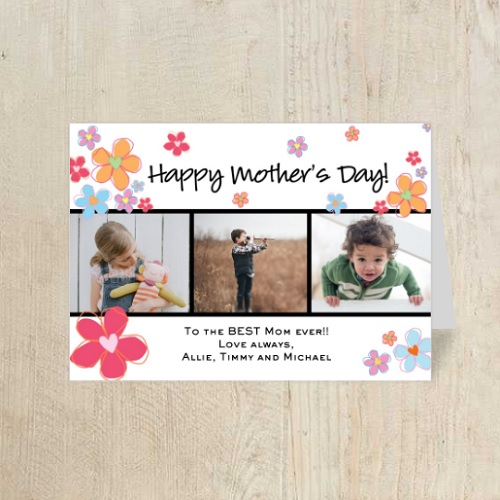 40% off Mother's Day Photo Greeting Card : Only $1.79