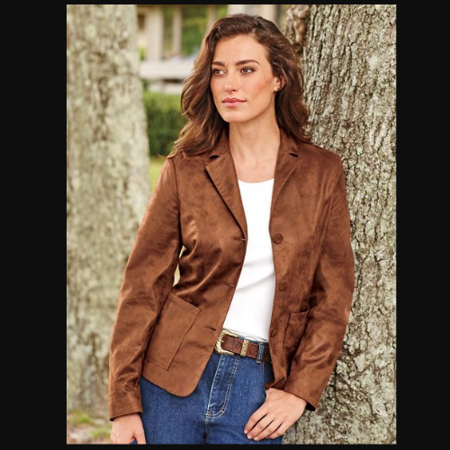 Up to 74% off Women's Faux Leather Jacket : $17.97 + Free S/H