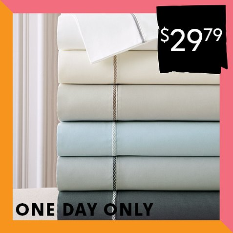 Up to 82% off 400TC Sheet Sets : Only $29.79