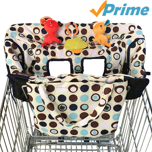 54% off 2-in-1 Shopping Cart Cover : $20.98