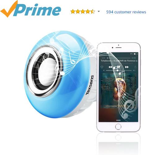 45% off Light Bulb Bluetooth Speaker : $15.99