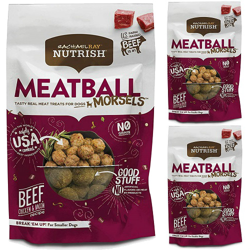 44% off 3-PK of Rachael Ray Nutrish Meatball Dog Treats : Only $19.97 + Free S/H