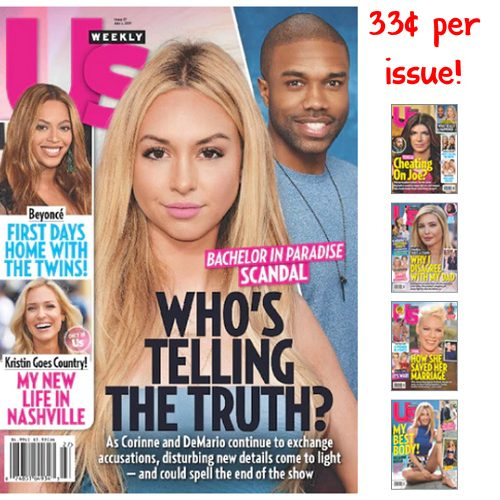 75% off US Weekly Subscription : Only $16.99