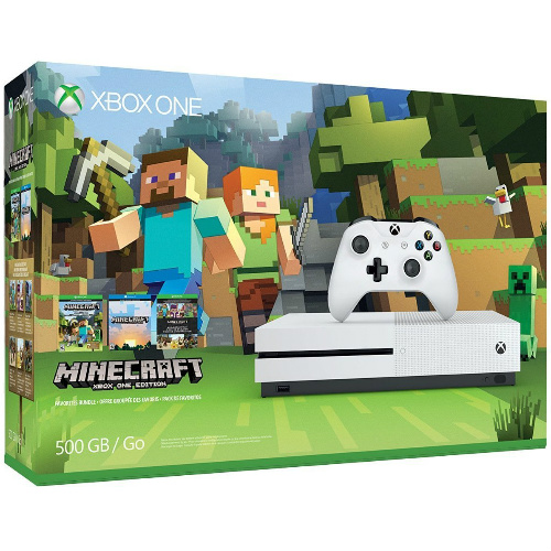 33% off Xbox One S 500GB Console Minecraft Favorites Bundle : $199.99 + Free S/H