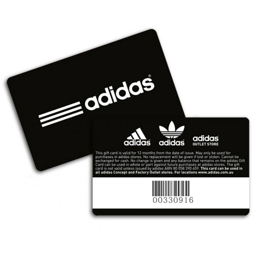 10% off $100 adidas Gift Card : Only $90