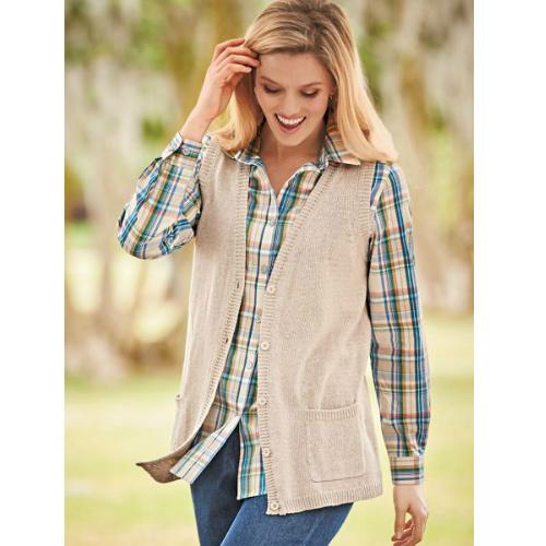 75% off Women's Knit Sweater Vest : $7.47 + Free S/H