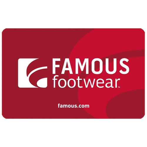 20 Off 50 Famous Footwear Gift Card