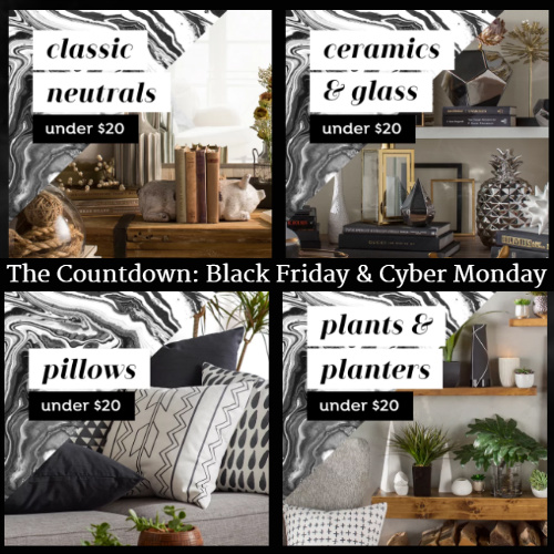 Joss & Main Decor Sale : Everything under $20 + Free S/H