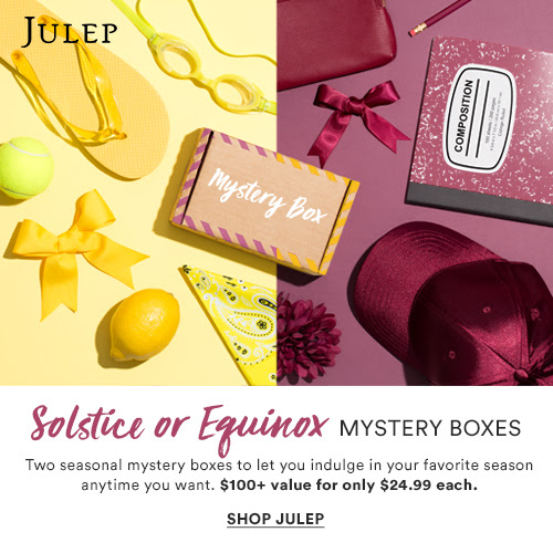 75% off Julep August Mystery Box : $24.99 + Free S/H