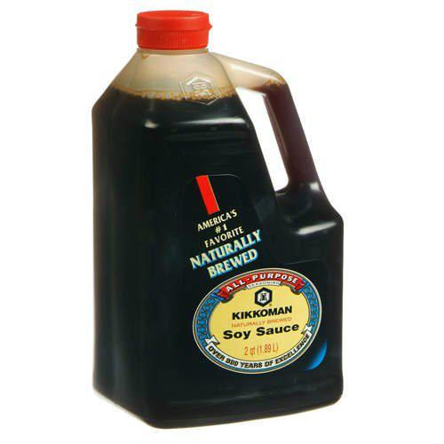 63% off 64oz Kikkoman Soy Sauce : Only $4.99