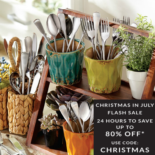 Oneida : Up to 80% off Christmas in July Sale