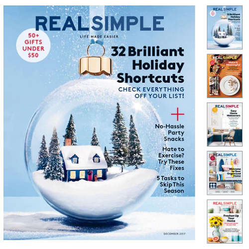 61% off Real Simple Magazine Subscription : Only $8.95