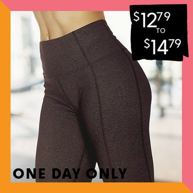Up to 75% off Tummy Control Leggings : $12.79 & $14.79