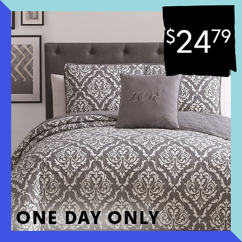 Up to 89% off Quilt Sets : Only $24.79