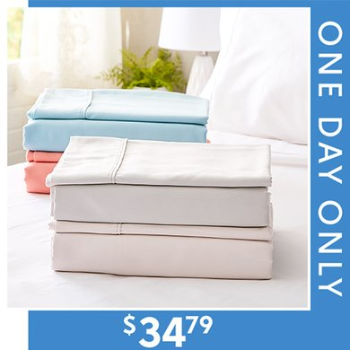 77% off 800-TC Sheet Sets : Only $34.79 any size
