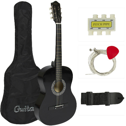 61% off Beginners Acoustic Guitar Kit : $28.99 + Free S/H
