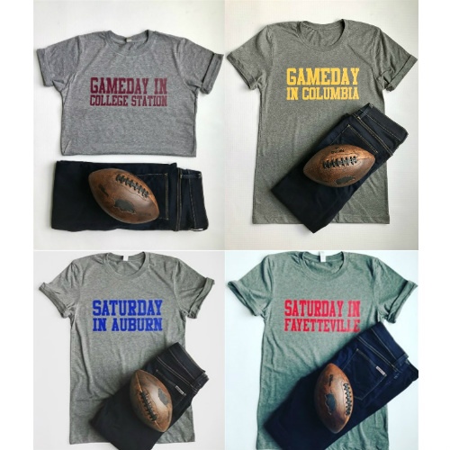 52% off Custom Gameday Tees : $13.99