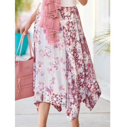 Up to 74% off Handkerchief Hem Skirt : $11.97 + Free S/H