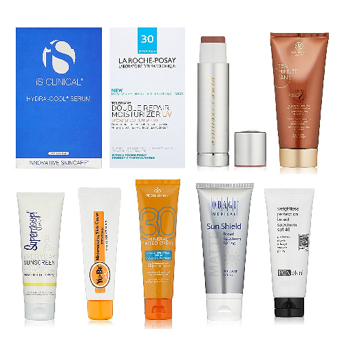 Luxury Sun Care Sample Box : $19.99 + Free S/H + $19.99 Credit for Future Purchase