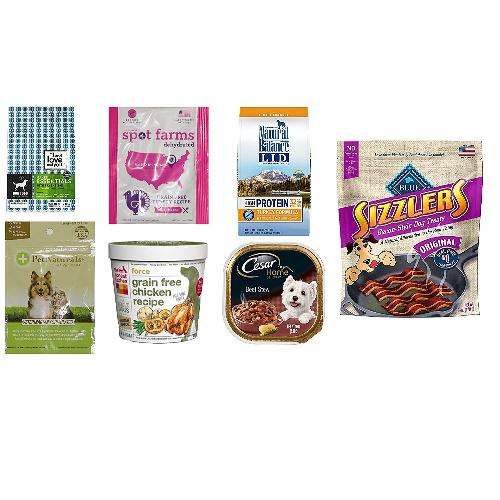 Dog Food & Treats Sample Box : $11.99 + $11.99 Credit for Future Purchase