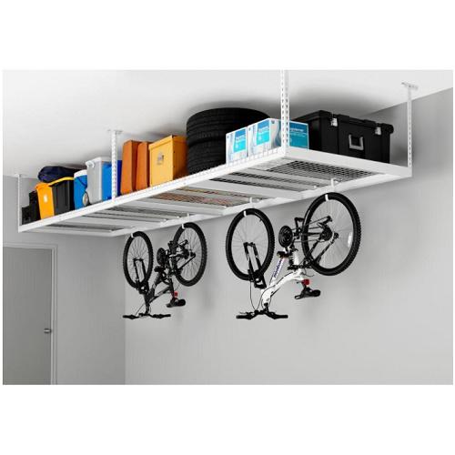 20% off 8′ x 4′ Overhead Garage Racks : $119 + Free S/H