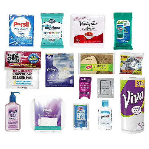 Household Essentials Sample Box : $14.99 + $14.99 Credit for Future Purchase