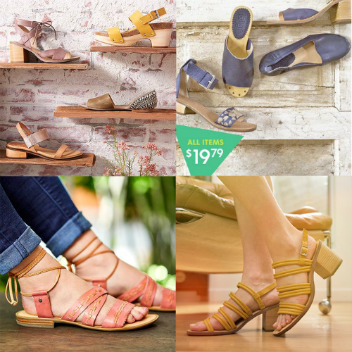 Up to 80% off Latigo Leather Sandals : Only $19.79