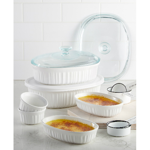 66% off 10-PC Corningware Bakeware Set : $19.99 AR