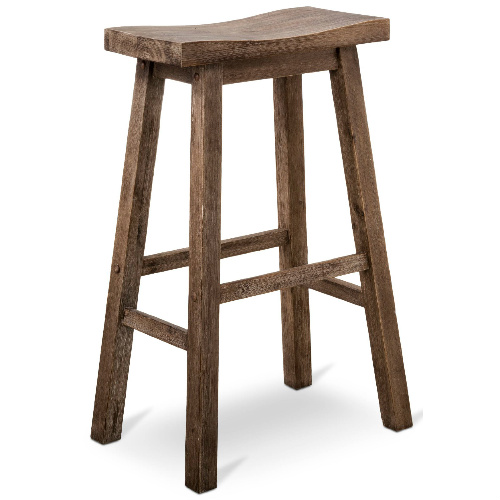 50% off 29″ Hardwood Barstool : $37.48 + Free S/H
