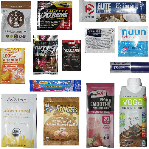 Nutrition & Wellness Sample Box : $14.99 + $14.99 Credit for Future Purchase