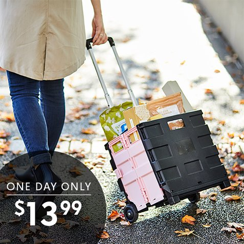 60% off Samsonite Trolley Carts : Only $13.99