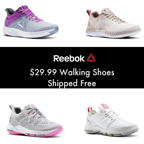 Up to 70% off Women's Reebok Walking Shoes : Only $29.99 + Free S/H