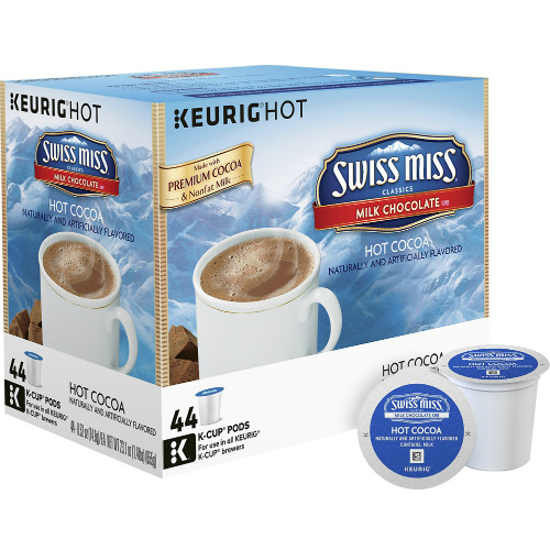 50% off 44-PK of Swiss Miss Hot Cocoa K-Cups : $14.99