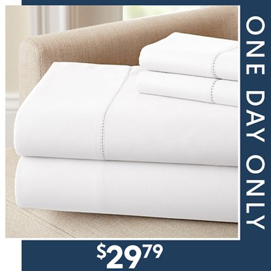 Up to 83% off 400TC Sheet Sets : Only $29.79