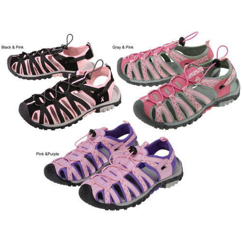 66% off 2 Pairs of Path to Pink Sport Sandals : Only $27.29